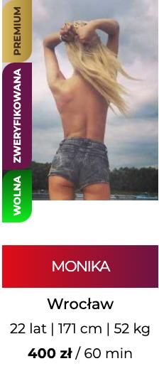 Seks oferty Wrocław - strona z ogłoszeniami towarzyskimi